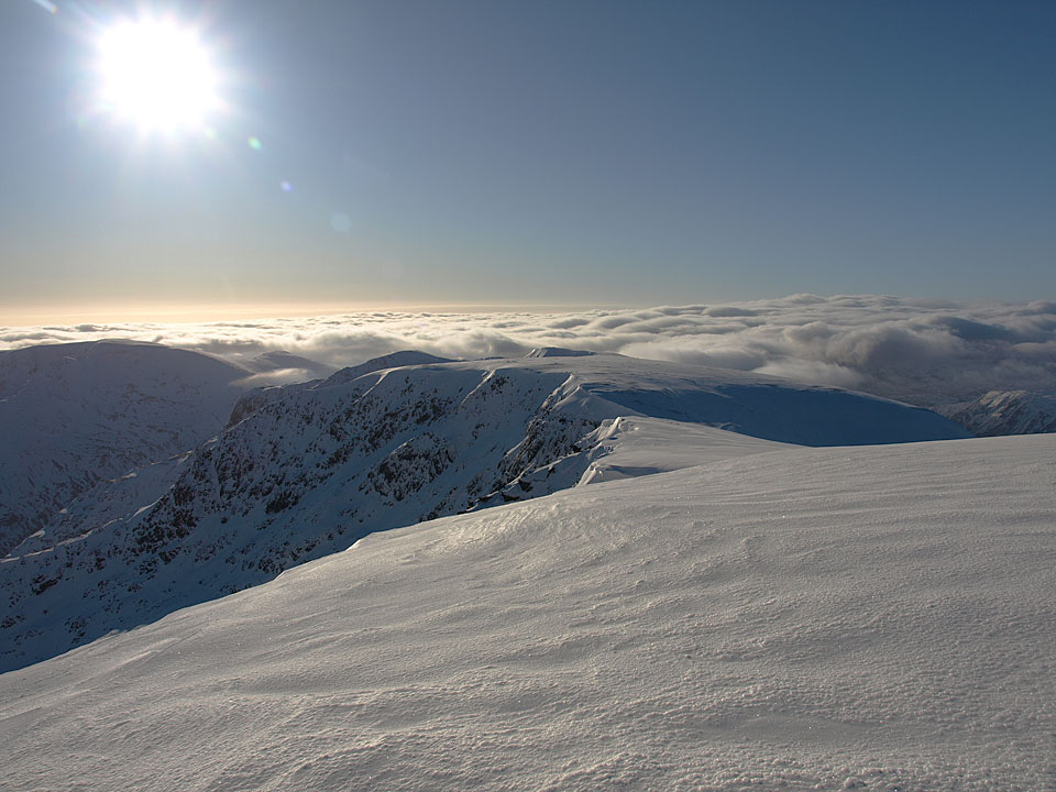 Beautiful sunshine, beautiful inversion, beautiful snow
