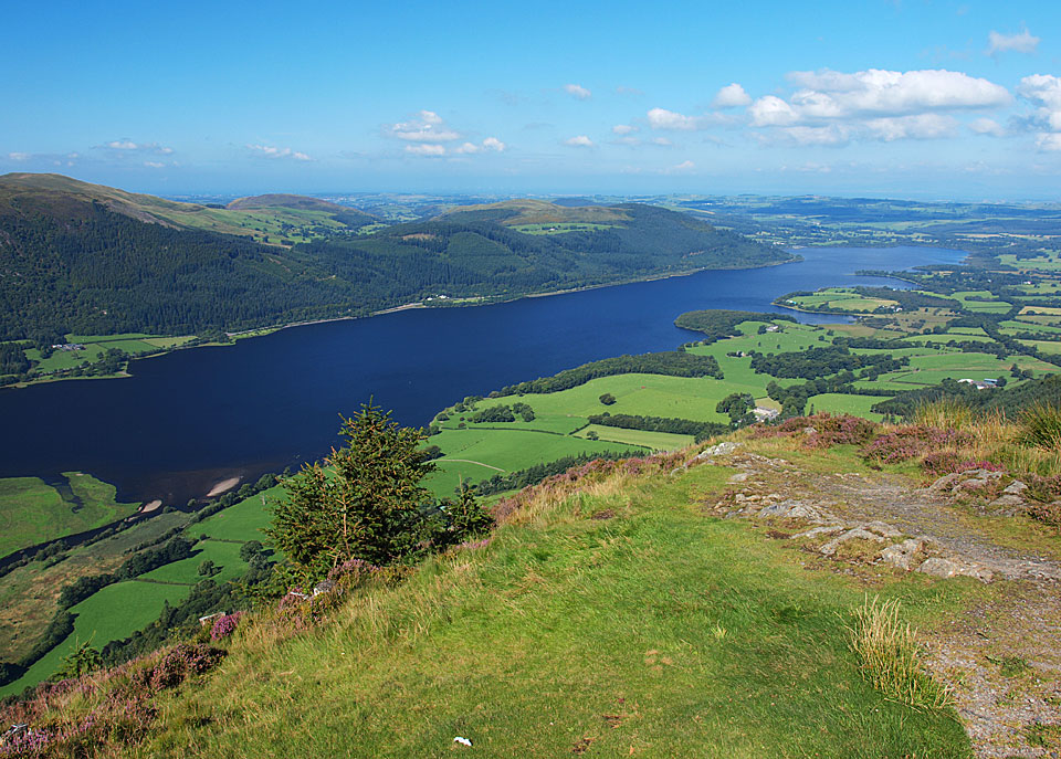 Bassenthwaite Lake from Dodd