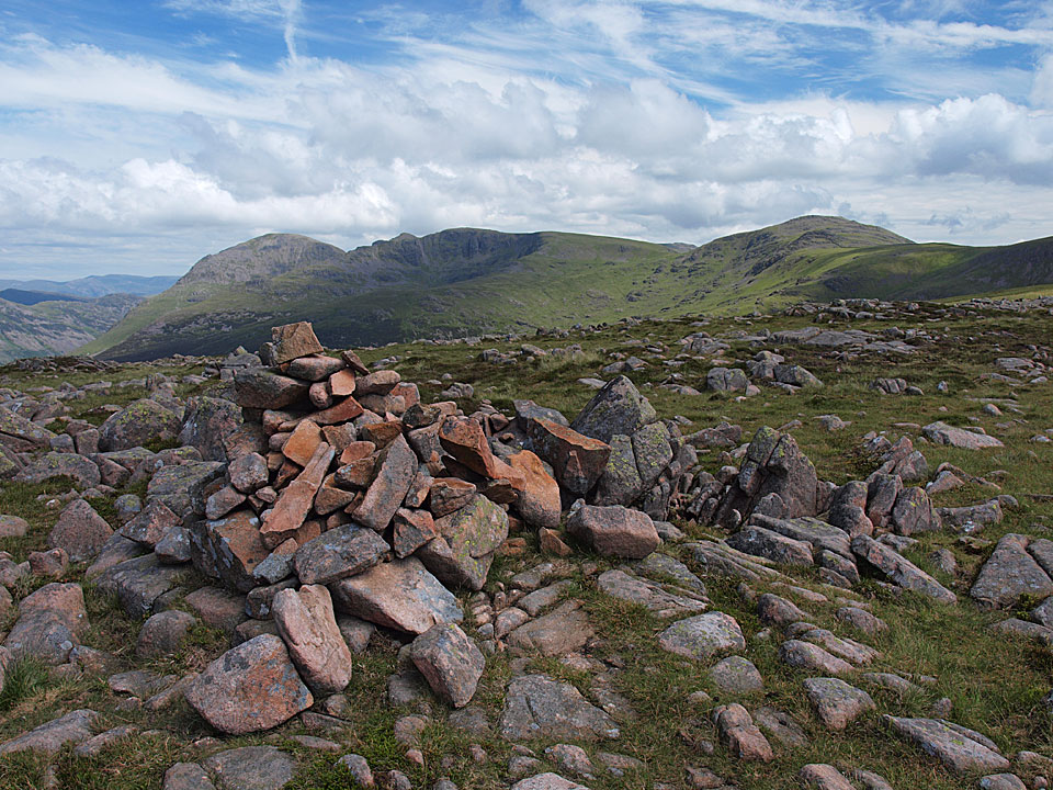 The summit of Ennerdale Fell