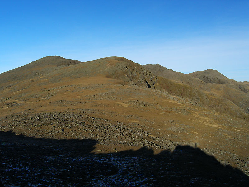 The Scafells from Slight Side