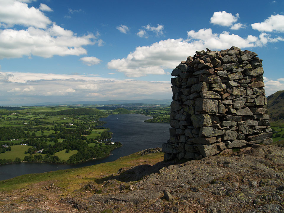 Hallin Fell summit