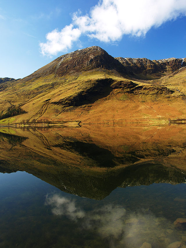 High Crag from Buttermere.