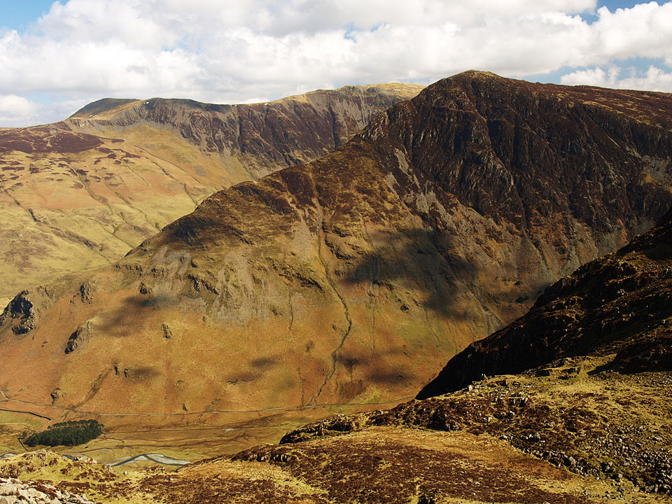 Fleetwith Pike from Seat.