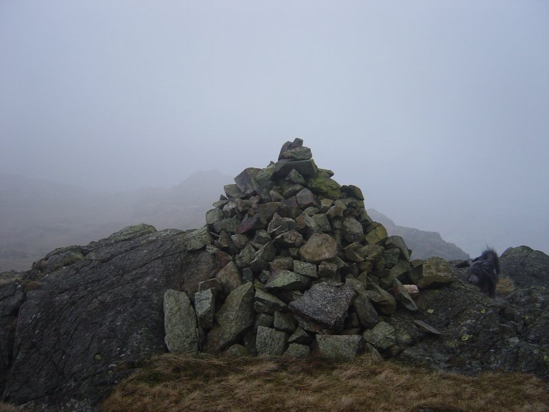 The summit of Blake Rigg