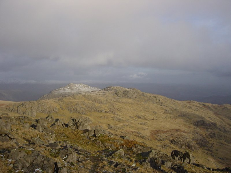 Pike O' Blisco and Cold Pike from Little Stand.