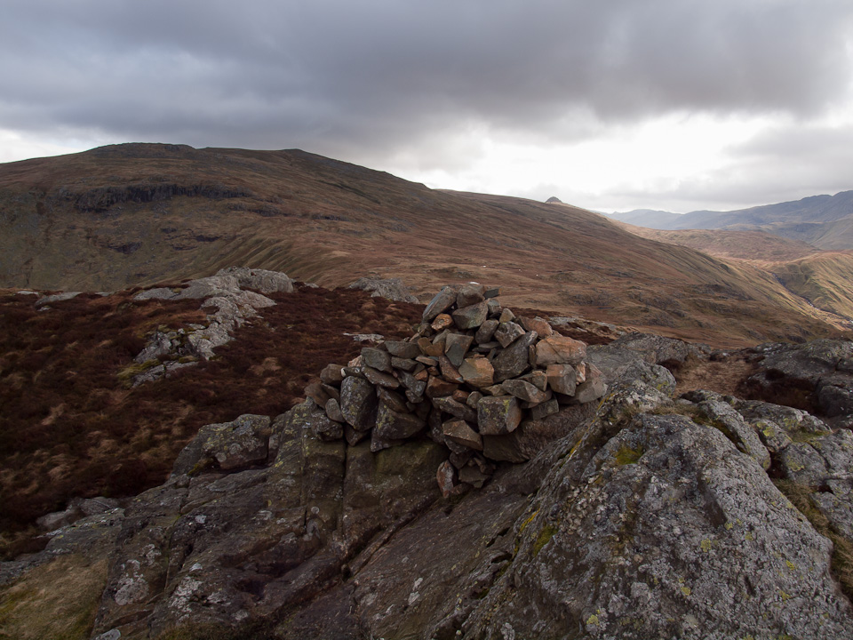 High Raise and Pike o' Stickle from Sergeant's Crag