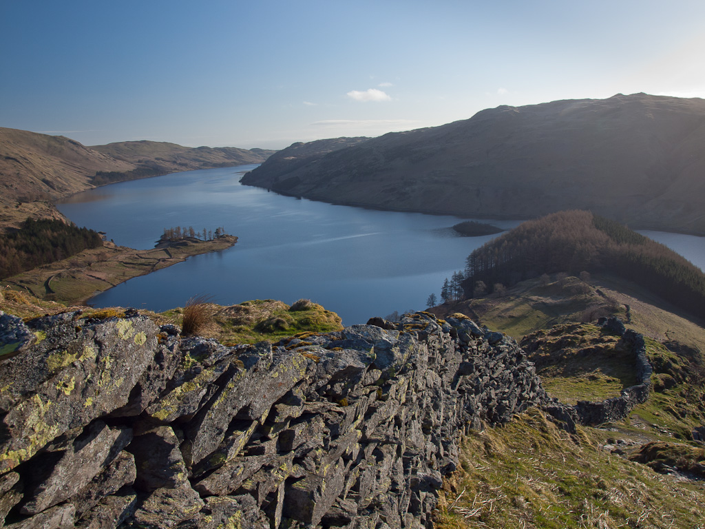 Haweswater from the Rough Crag ridge
