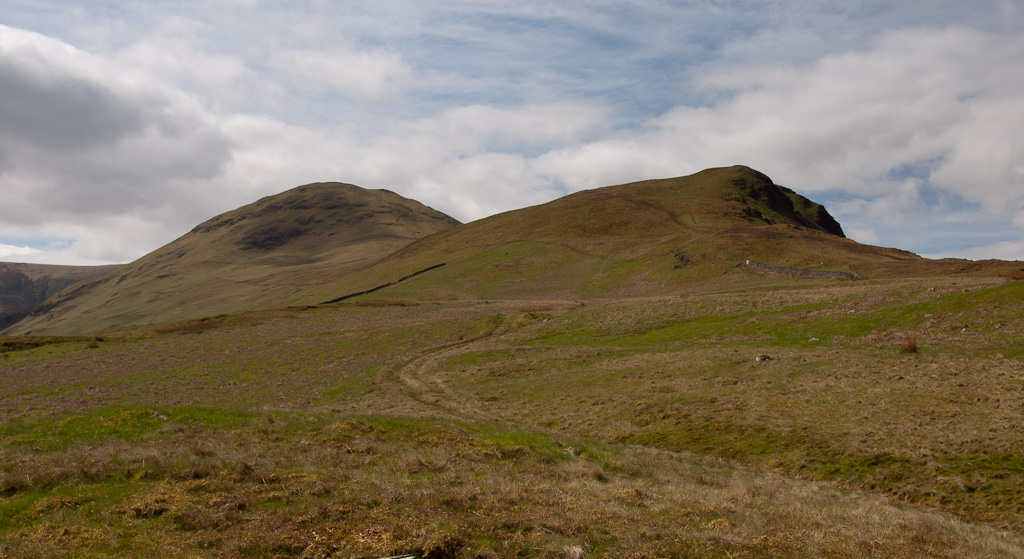 Twin peaks - Hen Comb and Little Dodd