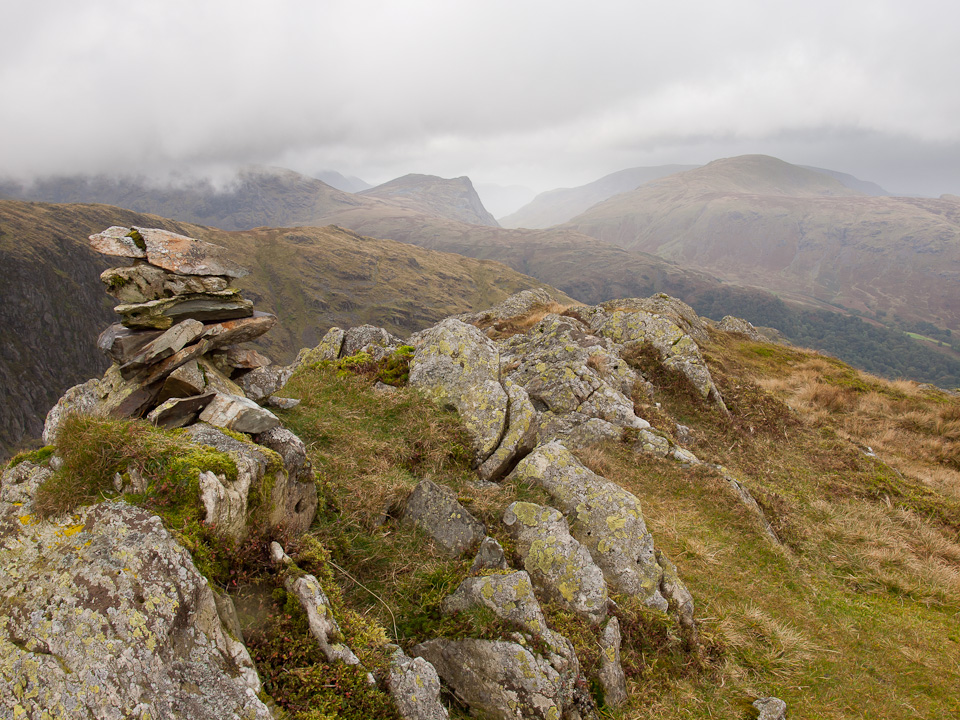 Fleetwith Pike from Stonethwaite Fell