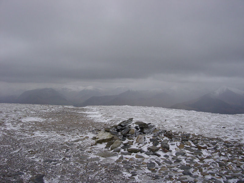 Looking towards Borrowdale from Carl Side