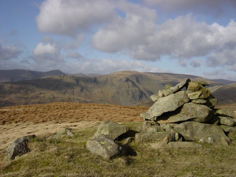 Long Sleddale from Birkett's Ancrow Brow summit