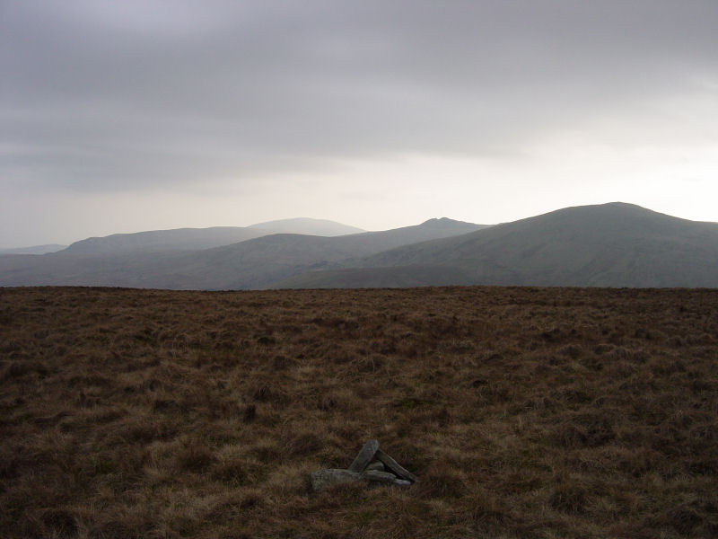 Black Combe, Buck Barrow and Whitfell from Hesk Fell summit
