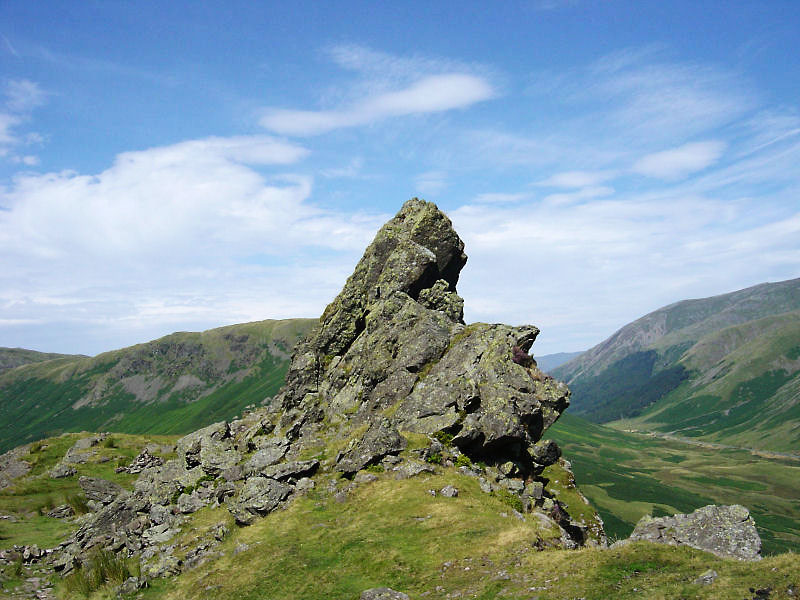 The Howitzer on Helm Crag