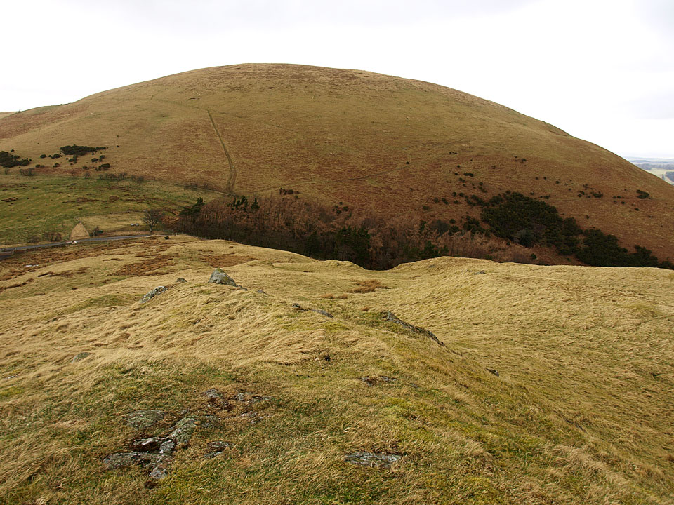 Little Mell Fell across The Hause from Watermillock Fell