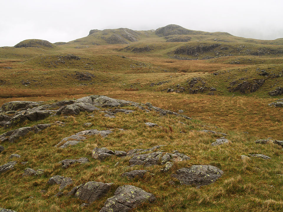 Looking back to Great How from Whinscales