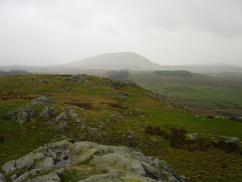 Great Mell Fell from Eycott Hill