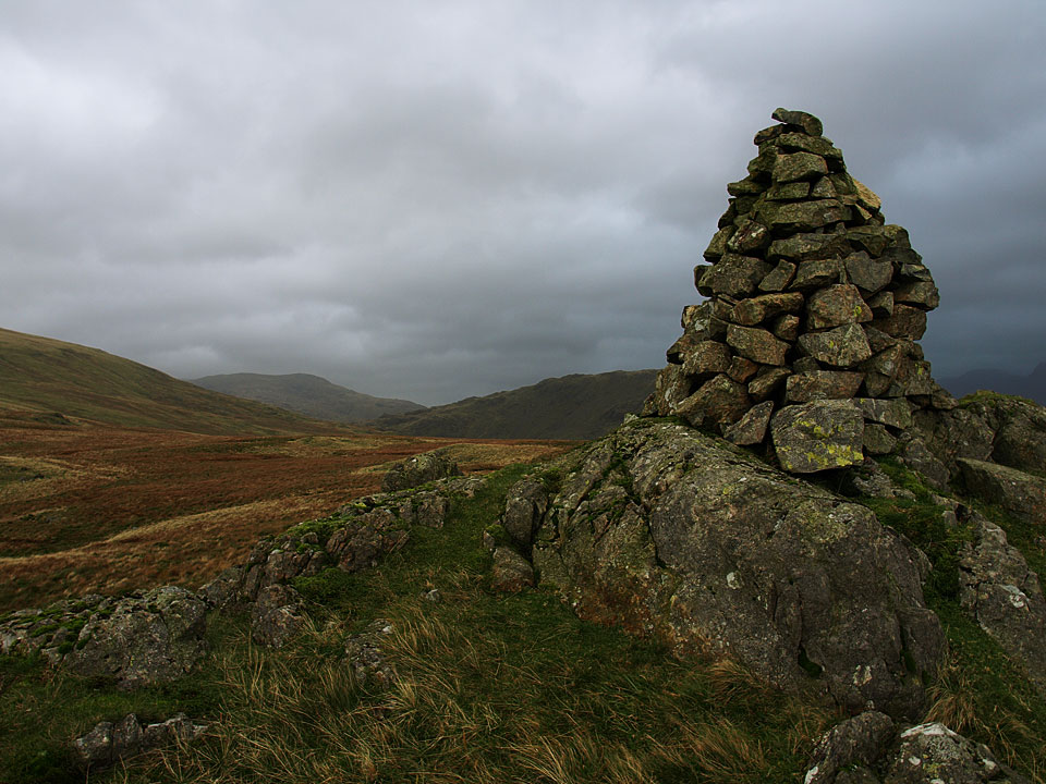 Red Pike from the summit of Glade How
