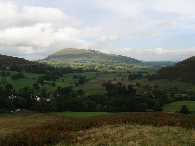Great Mell Fell from Bracken How