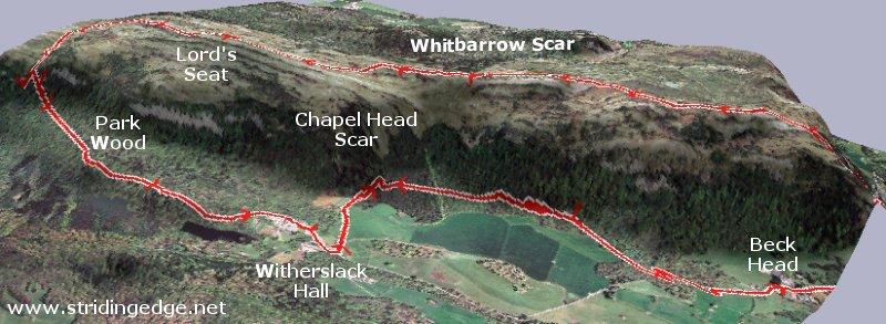 Whitbarrow Scar 3D