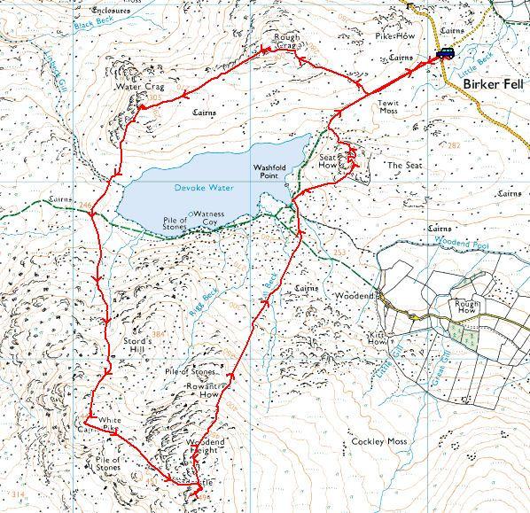 Circuit of Devoke Water