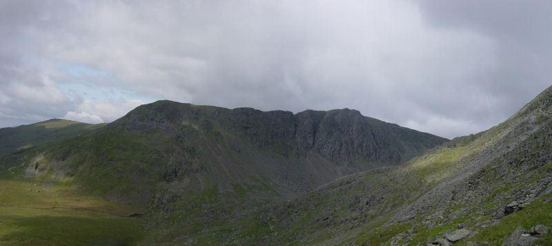 Coniston Old Man - panorama1