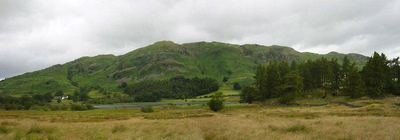 Little Langdale Tarn - panorama1