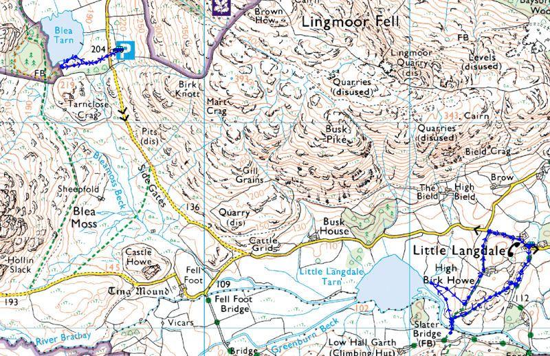 Little Langdale Tarn