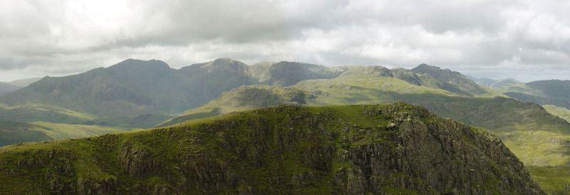 Coniston Round - panorama4