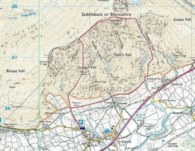 a Blencathra via Gategill Fell, Knott Halloo, Doddick Fell.JPG