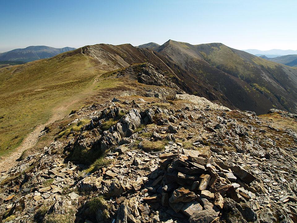 The Whiteside ridge