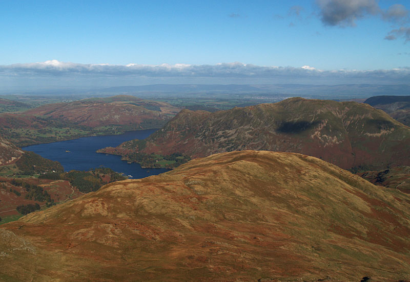 Ullswater and Birks from Gavel Pike
