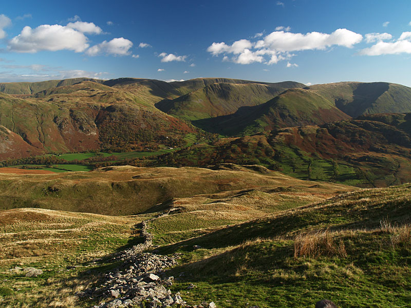 Hartsop on the descent from Birks