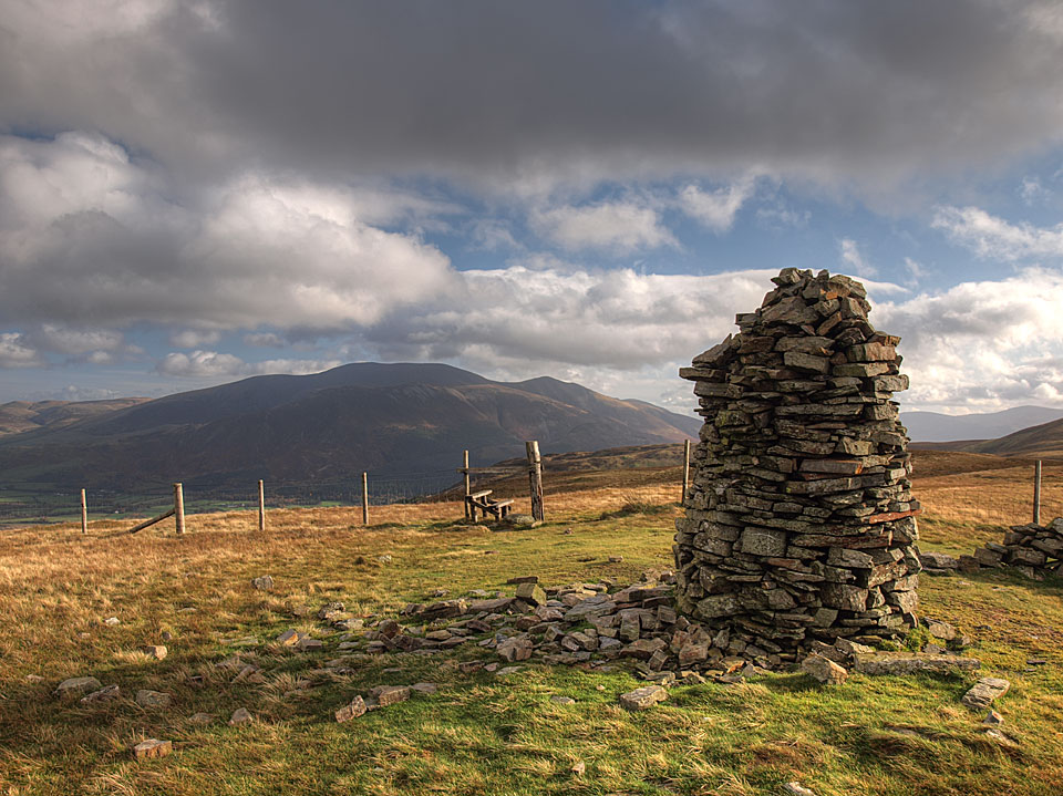 Looking to Skiddaw from Broom Fell