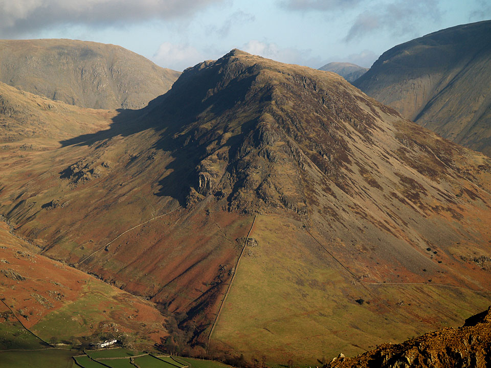 Yewbarrow from The Screes