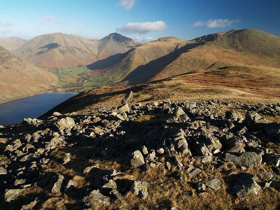 The head of Wasdale from Illgill Head