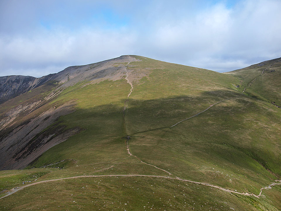 Sand Hill across Coledale Hause