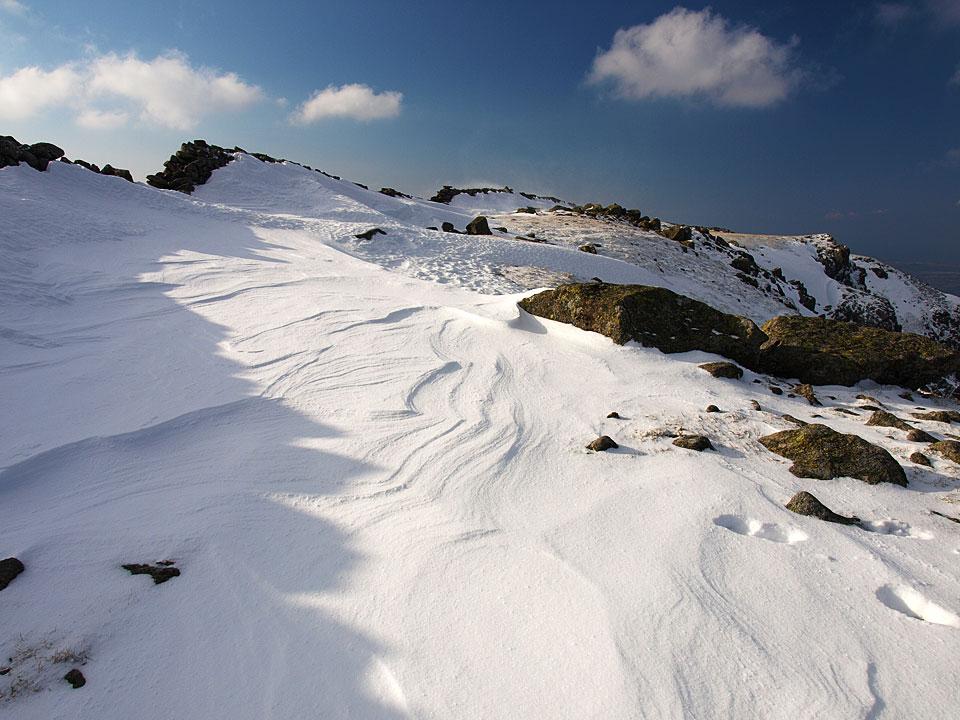 Scoat Fell snow