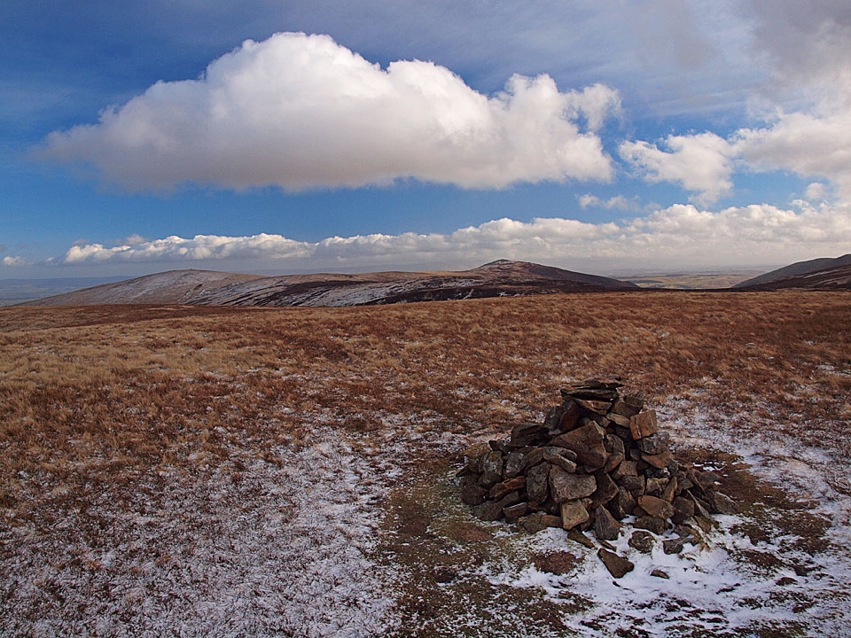 Great Sca Fell summit