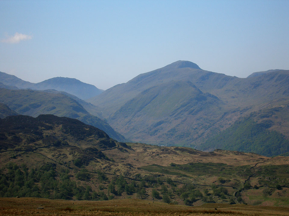 Lingmell and Great Gable from High Tove