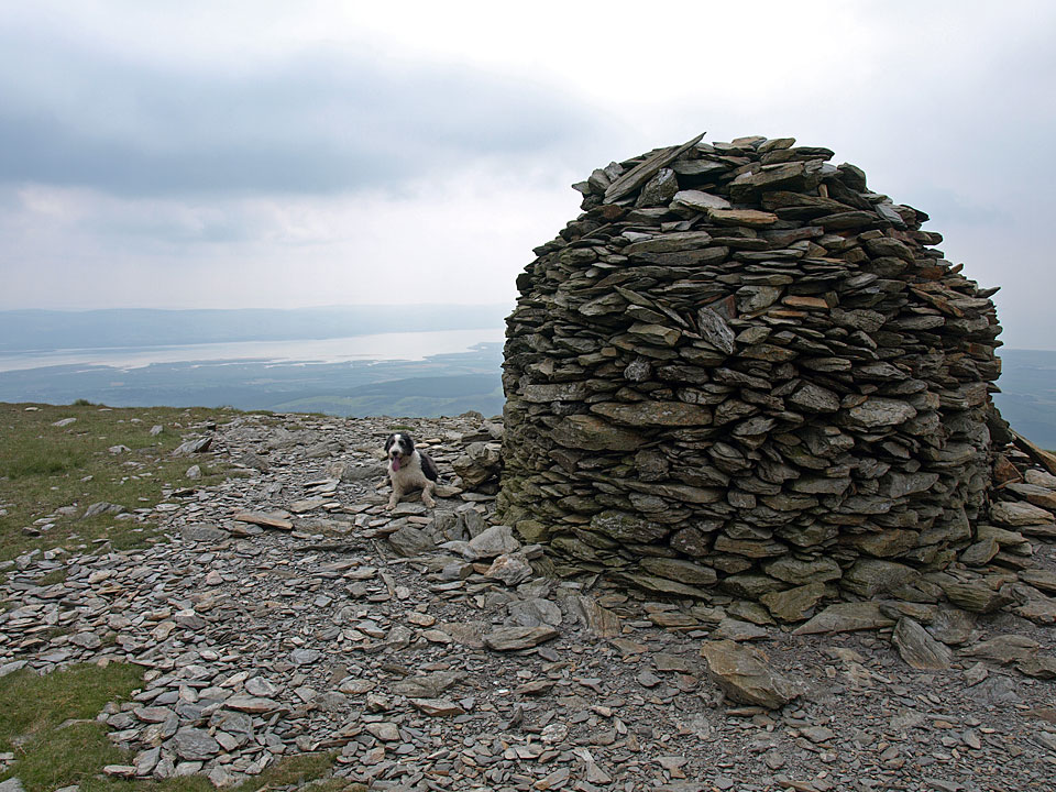 The large cairn on the South Top