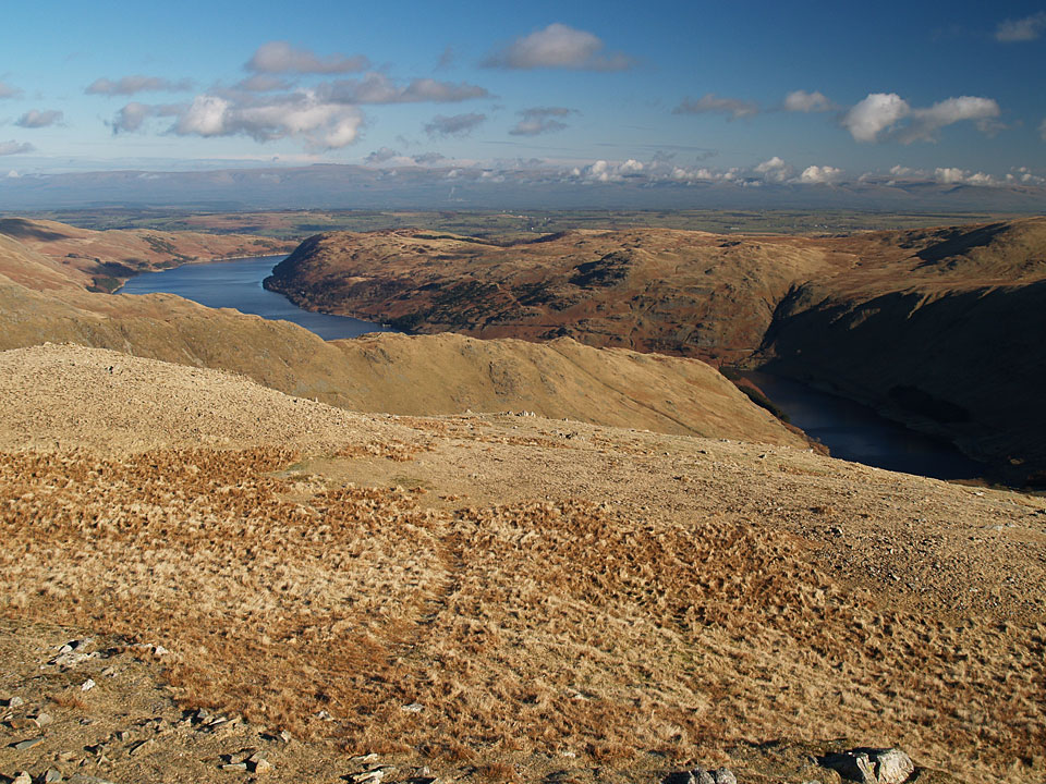 Haweswater and the easterly view from Mardale Ill Bell