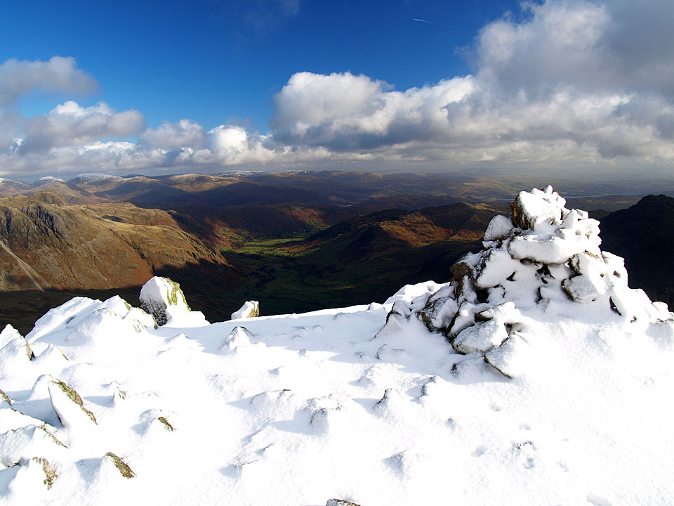 The summit of the Fifth Crinkle, Gunson Knott