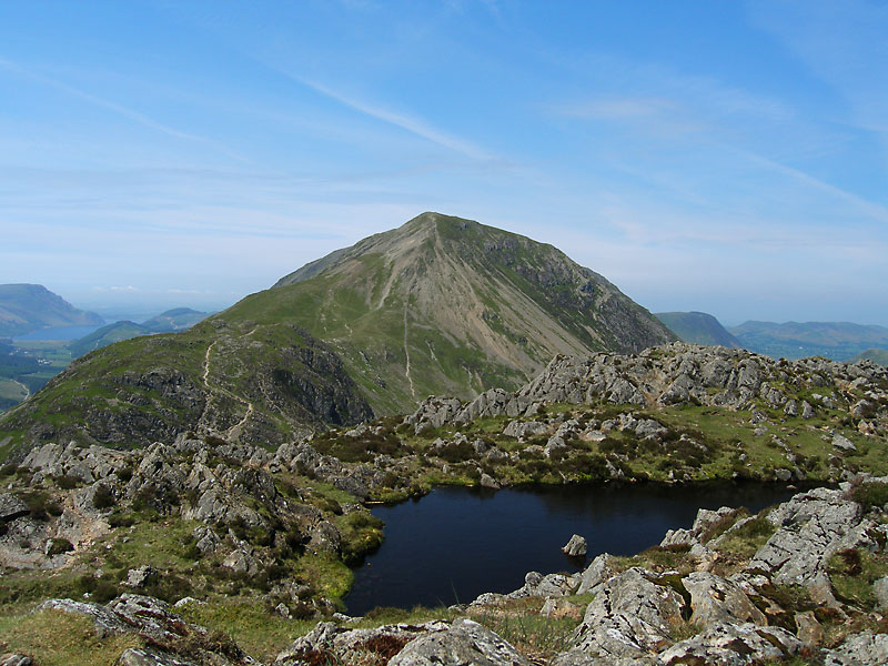 High Crag from the summit of Haystacks