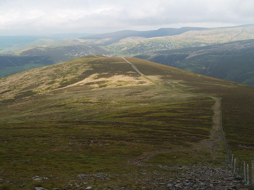 Descending to Bakestall from Skiddaw