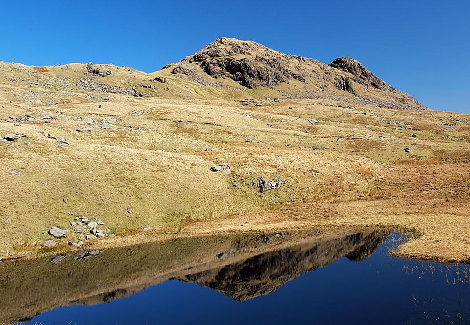 Little Hart Crag reflected in Scandale Tarn