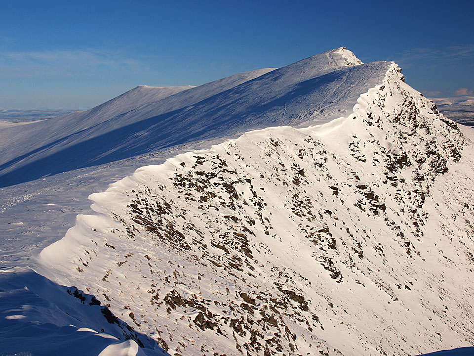 Looking back to Blencathra