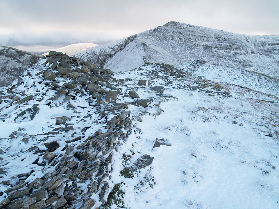 Hopegill Head from the summit of Ladyside Pike
