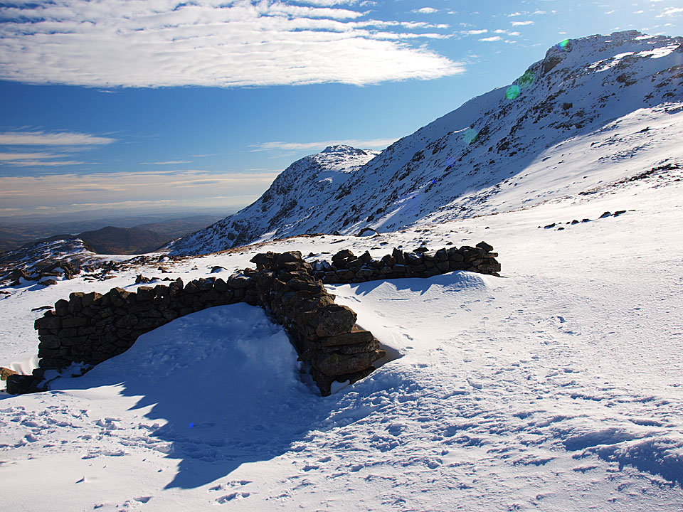Esk Pike from the cross shelter