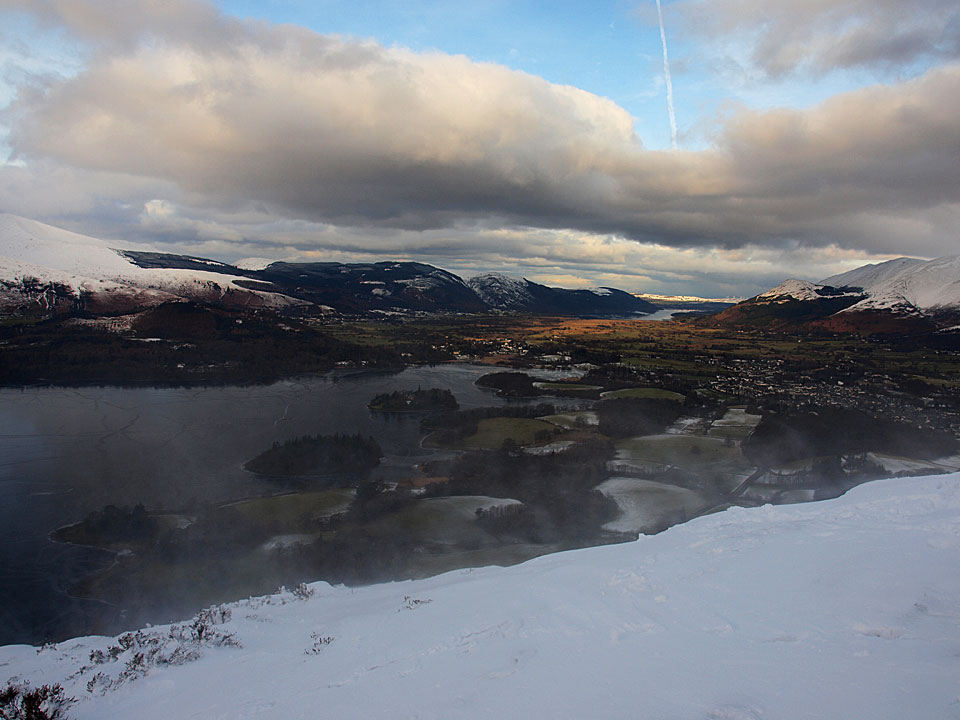 Winter on Walla Crag