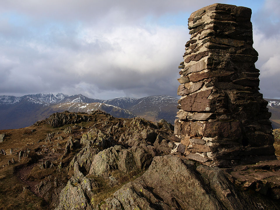 Helvellyn from the summit